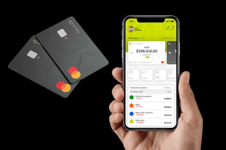 Kapital la tarjeta de crédito digital mexicana sin comisión