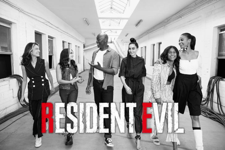 Resident Evil galería del elenco de la serie live action de Netflix