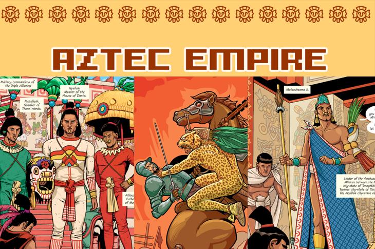 Aztec Empire ¿conocías este cómic sobre la cultura mexica?
