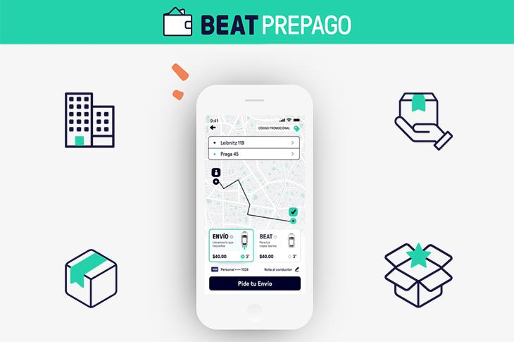 Beat Prepago movilidad para empresas y colaboradores