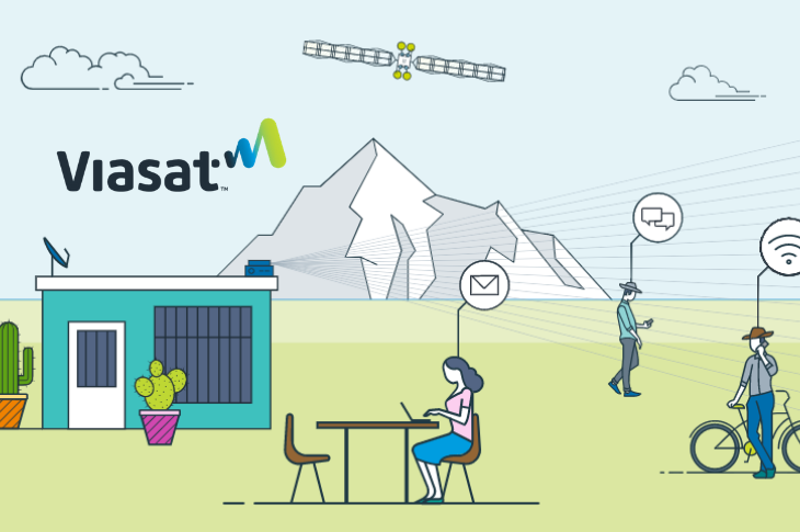 Viasat Internet satelital más veloz para hogares  en México