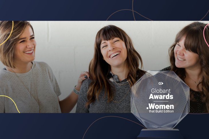 Ganadoras de los Globant Awards Women That Build en México