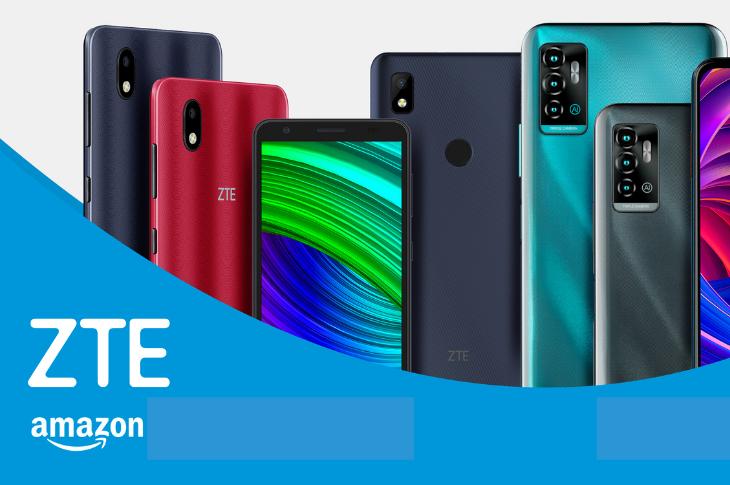 Los mejores smartphones de ZTE en Amazon