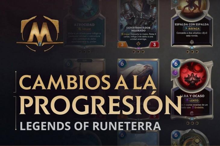 Cambios para Legends of Runeterra de Riot Games