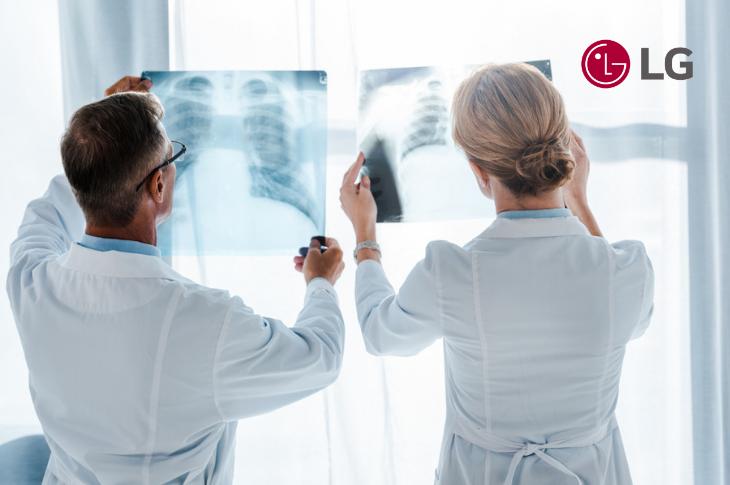 LG desarrolla software detector de rayos X digital con inteligencia artificial