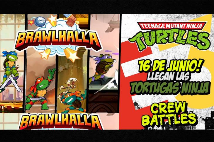 Ubisoft Las Tortugas Ninja llegan a Brawlhalla
