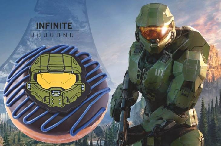 Xbox y Krispy Kreme lanzan dona edición especial Halo Infinite