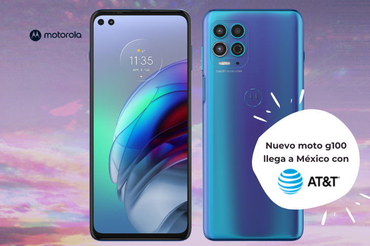 Moto g 100 llega a AT&T México: precio y ficha técnica