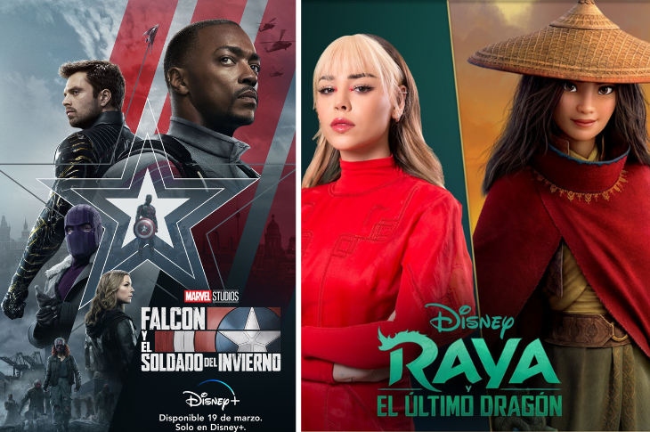 Disney Plus México estrenos para marzo de 2021