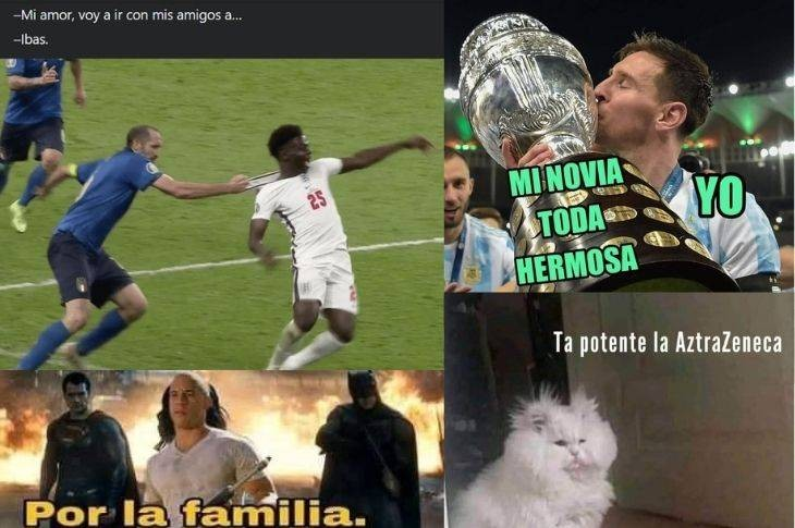 Memes de Toretto, vacuna COVID-19, final Copa América y Eurocopa 2020