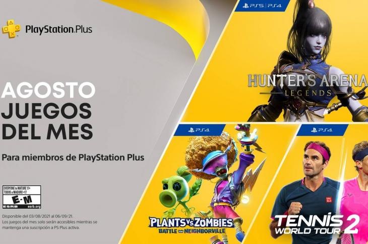 Juegos gratis de PS Plus en Agosto 2021