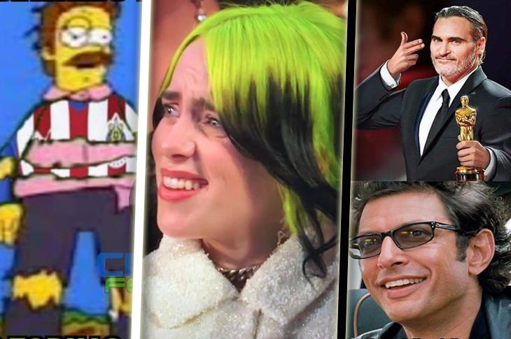 Memes de los Oscar 2020, la reacción de Billie Eilish, Liga MX y más