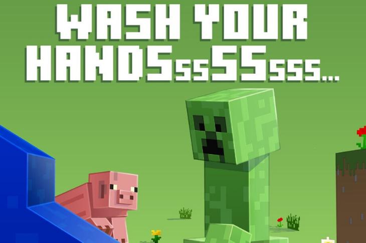 Minecraft y ONU unen fuerzas para campaña sobre Coronavirus