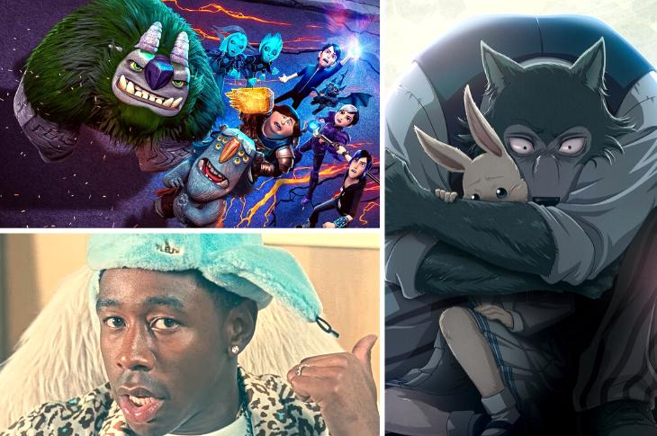 Mejores videos: Trollhunters, Tyler The Creator, BEASTARS y más