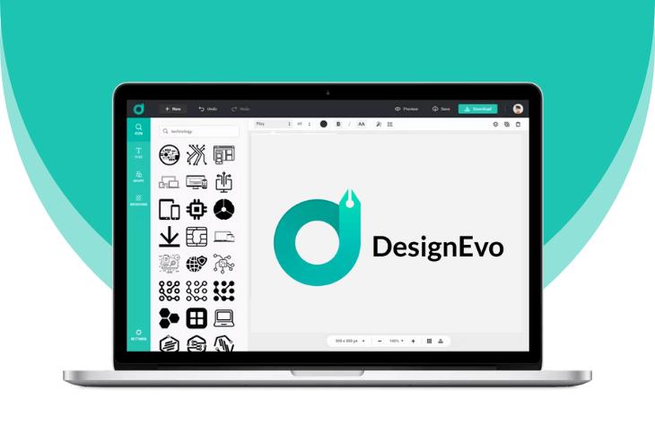 DesignEvo empieza fácilmente tu proyecto de logotipo