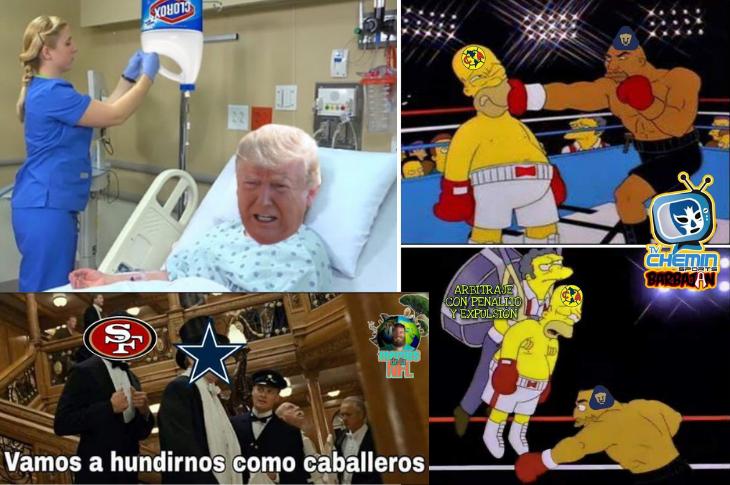 Los Mejores Memes Trump con Coronavirus, Liga MX J13, NFL Semana 4 y más
