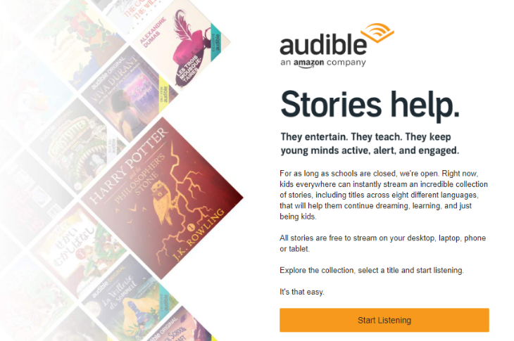 Amazon Audible Stories 159 audiolibros GRATIS en Español