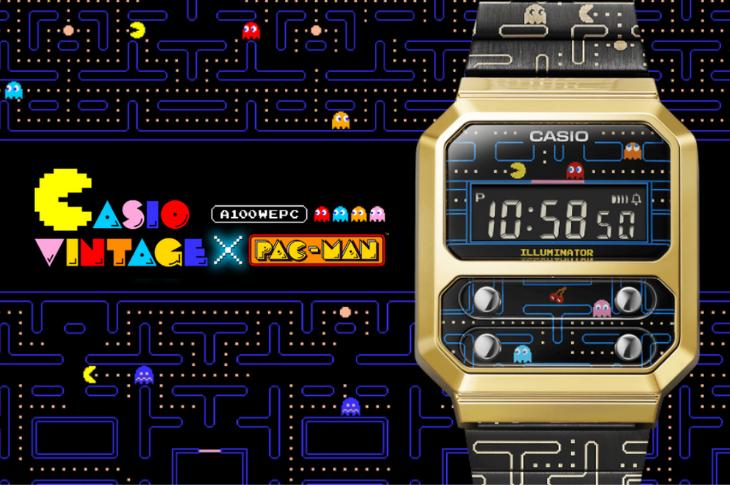 Casio Vintage x PAC-MAN estará disponible en México a fin de año