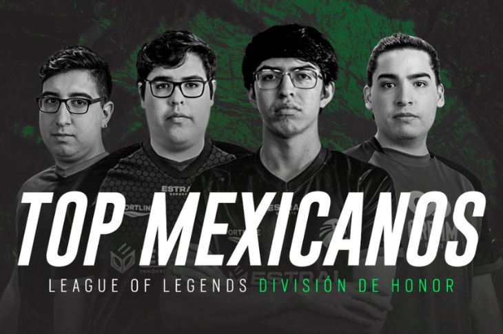 Top 5 gamers mexicanos en League of Legends