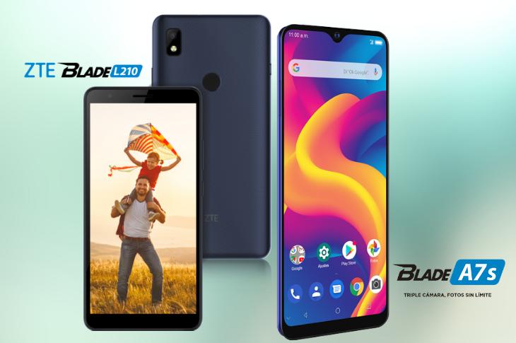 ZTE A7s y L210 nuevos smartphones de la serie Blade (precio y ficha técnica)