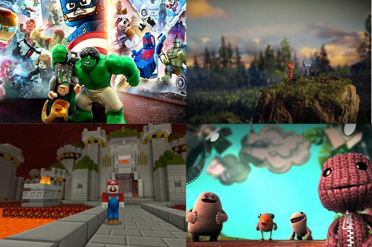 Los mejores videojuegos para niños que sí estimulan su imaginación