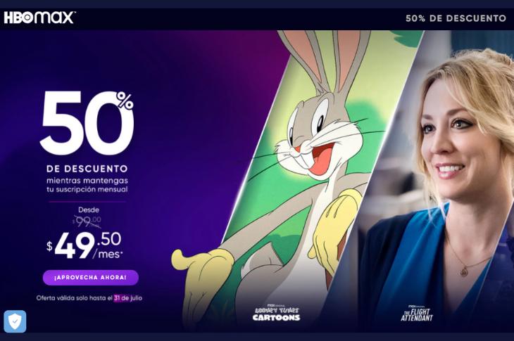 HBO Max México cómo contratar a mitad de precio para siempre