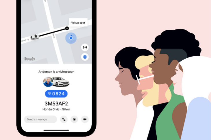 Uber implementa verificación con PIN para viajes seguros