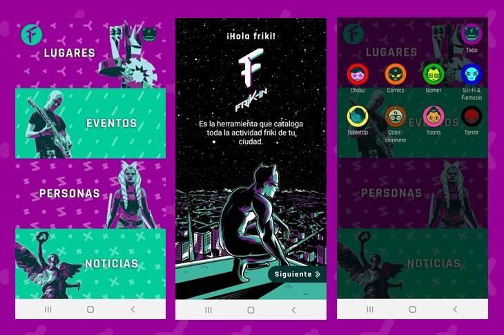 App Frik-In renueva su sección de Personas para la cuarentena