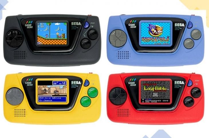 SEGA Game Gear Micro la nueva consola portátil de llavero