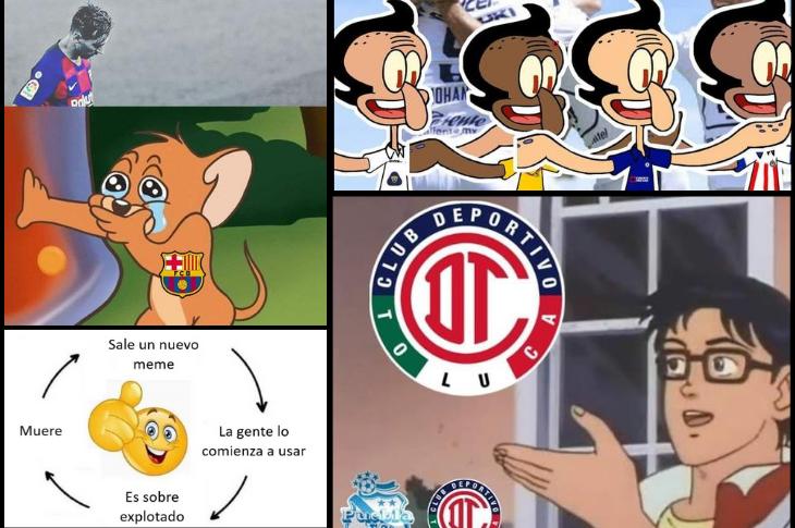 Los mejores memes Liga MX, ciclos y la salida de Messi del Barcelona