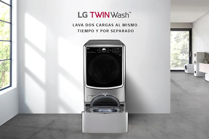LG TWINWash el revolucionario sistema de lavado inteligente