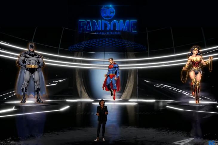 DC FanDome cómo ver la épica convivencia virtual de dos días