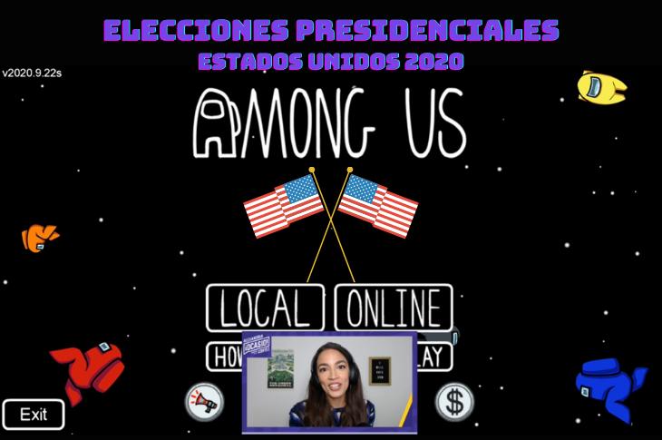 Videojuegos en las elecciones presidenciales de Estados Unidos 2020