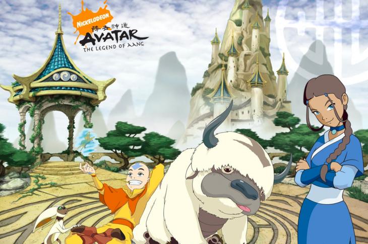 Live action Avatar The Last Airbender Galería del elenco