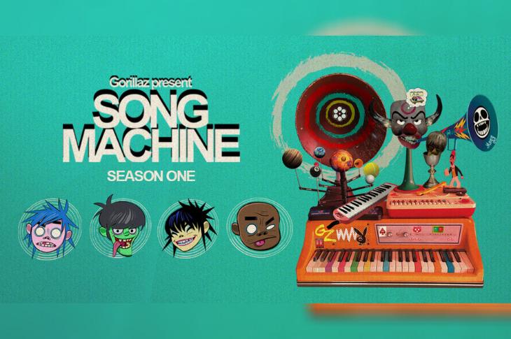 Song Machine Gorillaz junto a Robert Smith, Elton John, Beck y más