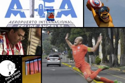 Memes de ciclovías, Falcon, logo del aeropuerto, Liga MX y más