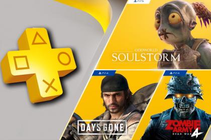 Juegos gratis de PS Plus en Abril 2021 incluyen Days Gone, Oddworld: Soulstorm y más