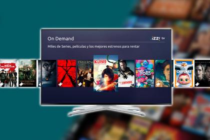 izzi tv On Demand: qué es, catálogo, cómo rentar
