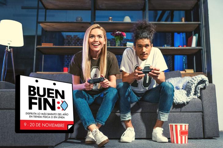 Buen Fin 2020 ofertas en videojuegos y consolas en Amazon México