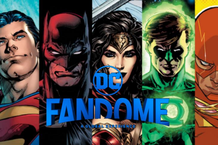 DC FanDome: evento digital para anunciar estrenos de DC Comics