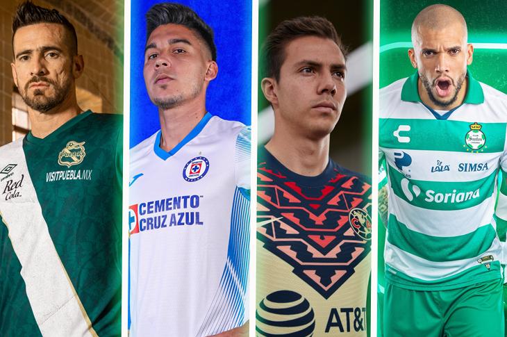 Liga MX Apertura 2021 Todos los nuevos jerseys de los equipos mexicanos
