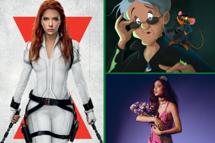 Mejores videos Black Widow, Olivia Rodrigo, Loki y más