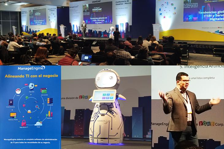 UserConf México 2020 soluciones de administración de TI por Manage Engine
