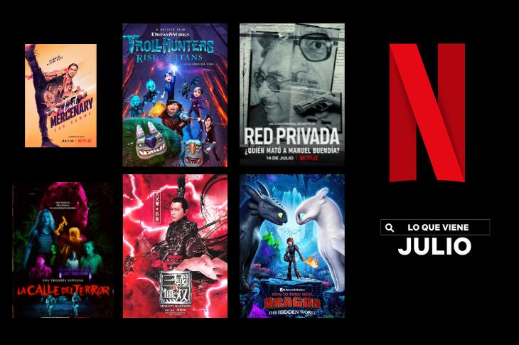 Películas de Netflix México estrenos para julio de 2021