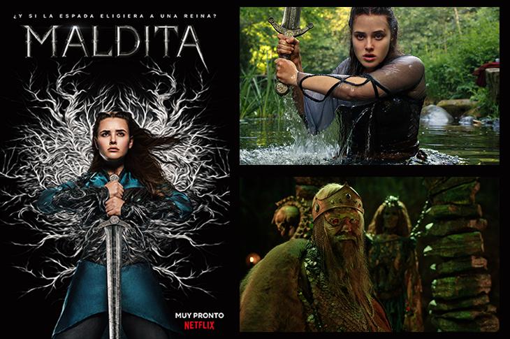 Maldita sinopsis de la nueva serie de Netflix y galería del elenco