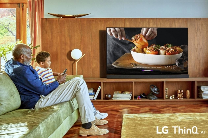 LG TV IA ThinQ 2019 inteligencia artificial y entretenimiento