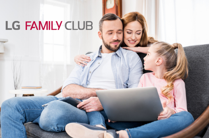 LG invita a sus consumidores a ser parte de LG FAMILY CLUB