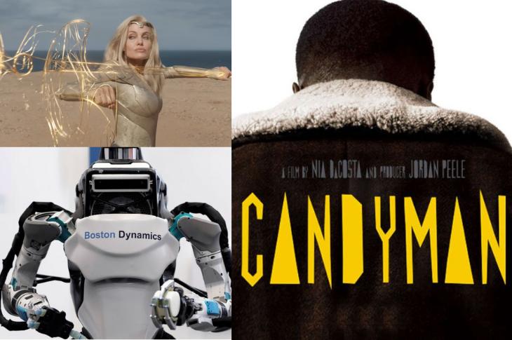 Mejores videos Eternals, Candyman, robots Atlas y más