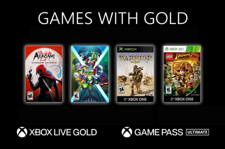 Juegos gratis de Xbox en Games with Gold para noviembre de 2020