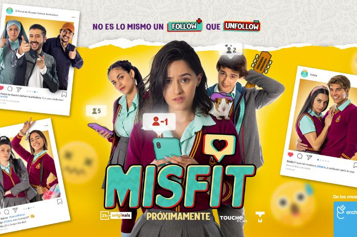 El soundtrack de la película Misfit ya está disponible